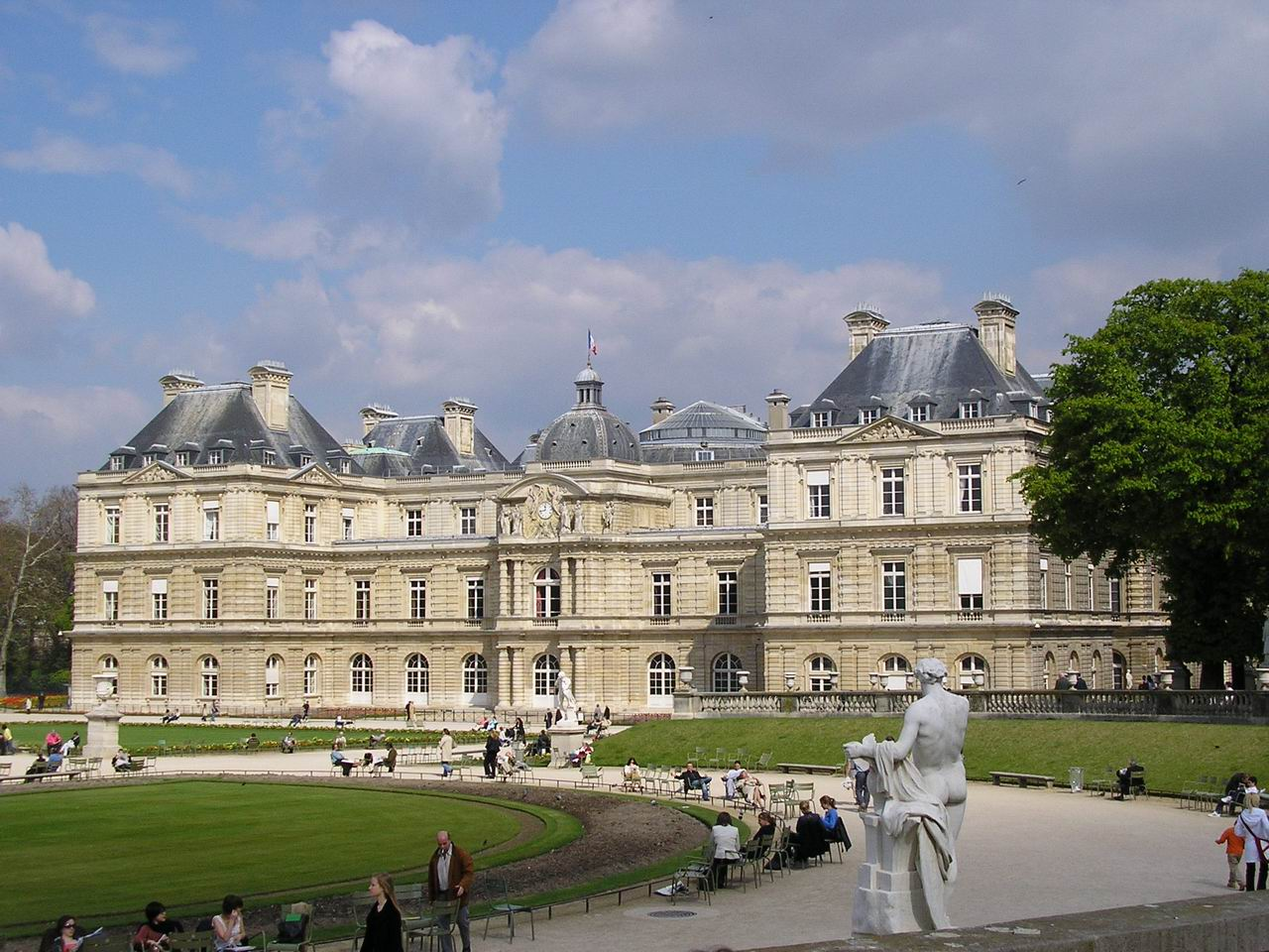 Encore life for Jardin du luxembourg